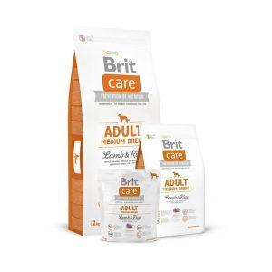 Сухой корм для собак Brit Care Adult Medium Breed Lamb and Rice купить, цена