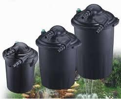 Фильтры для прудов